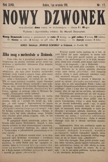 Nowy Dzwonek. 1910, nr17