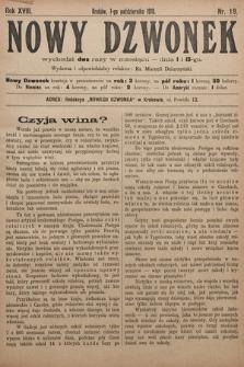 Nowy Dzwonek. 1910, nr19