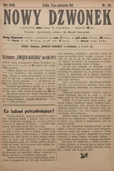 Nowy Dzwonek. 1910, nr20