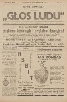 """Nowy Dzwonek : przedtem """"Głos Ludu"""". 1911, nr41"""