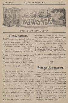 """Nowy Dzwonek : dodatek do """"Głosu Ludu"""", nr 11"""