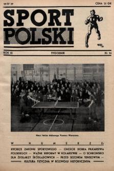 Sport Polski. 1939, nr16