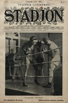Stadjon : tygodnik ilustrowany poświęcony sprawom sportu i przysposobienia wojskowego. 1925, nr10