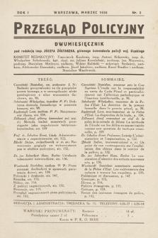 Przegląd Policyjny. 1936, nr2