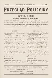 Przegląd Policyjny. 1939, nr2