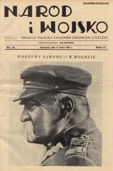 Naród i Wojsko : centralny organ Federacji Polskich Związków Obrońców Ojczyzny. 1935, nr6