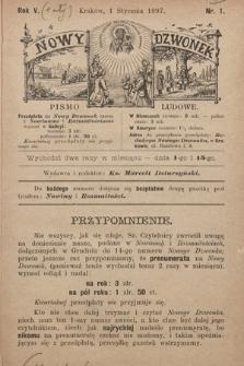 Nowy Dzwonek : pismo ludowe. 1897, nr1