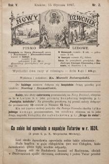 Nowy Dzwonek : pismo ludowe. 1897, nr2