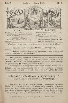Nowy Dzwonek : pismo ludowe. 1897, nr5