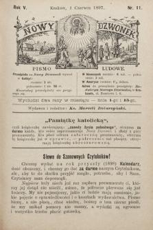 Nowy Dzwonek : pismo ludowe. 1897, nr11