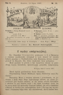 Nowy Dzwonek : pismo ludowe. 1897, nr14