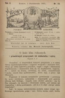 Nowy Dzwonek : pismo ludowe. 1897, nr18