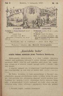 Nowy Dzwonek : pismo ludowe. 1897, nr19
