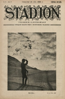 Stadjon : tygodnik ilustrowany poświęcony sprawom sportu i przysposobienia wojskowego. 1926, nr51