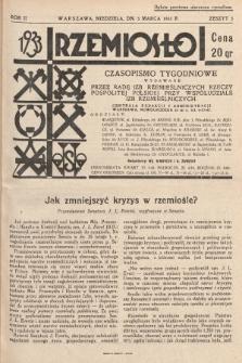 Rzemiosło : czasopismo tygodniowe wydawane przez Radę Izb Rzemieślniczych Rzeczypospolitej Polskiej przy współudziale Izb Rzemieślniczych. 1933, z. 5