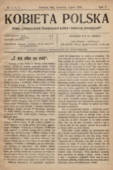 """Kobieta Polska : pismo """"Związku katolickich Stowarzyszeń kobiet i dziewcząt pracujących"""". 1920, nr 5-7"""