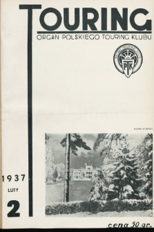Touring : organ Polskiego Touring Klubu. 1937, nr2