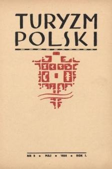 Turyzm Polski. 1938, nr5