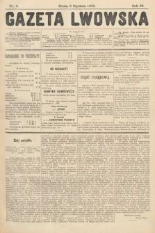 Gazeta Lwowska. 1908, nr4