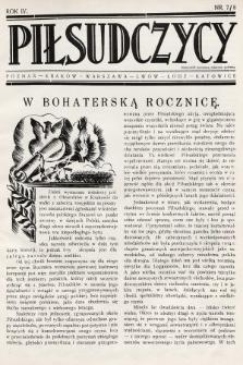 Piłsudczycy. 1936, nr7/8