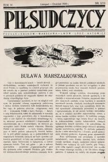 Piłsudczycy. 1936, nr9/10