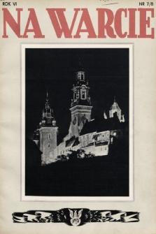 Na Warcie. 1938, nr7/8
