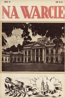 Na Warcie. 1938, nr9