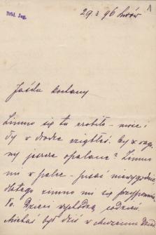 Korespondencja rodzinna Jana Gwalberta Pawlikowskiego z lat 1881-1910. T . 6, 1893-1895