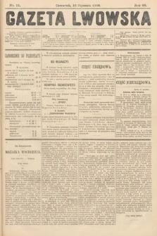 Gazeta Lwowska. 1908, nr11