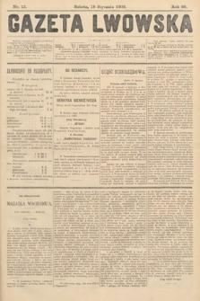 Gazeta Lwowska. 1908, nr13
