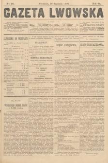 Gazeta Lwowska. 1908, nr20