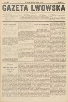 Gazeta Lwowska. 1908, nr21