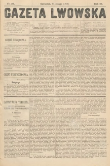 Gazeta Lwowska. 1908, nr29
