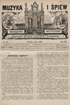 Muzyka i Śpiew: miesięcznik artystyczny : poświęcony sprawom muzycznym i zawodowym. 1926, nr64