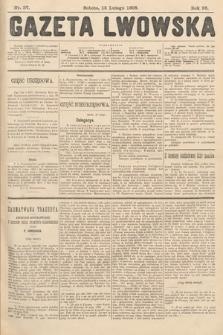 Gazeta Lwowska. 1908, nr37