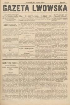 Gazeta Lwowska. 1908, nr41