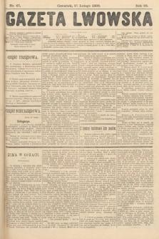 Gazeta Lwowska. 1908, nr47