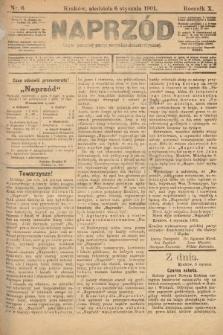 Naprzód : organ polskiej partyi socyalno-demokratycznej. 1901, nr6 [nakład pierwszy skonfiskowany]