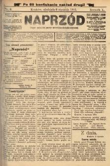 Naprzód : organ polskiej partyi socyalno-demokratycznej. 1901, nr6 (po konfiskacie nakład drugi!)