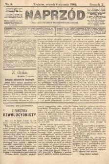 Naprzód : organ polskiej partyi socyalno-demokratycznej. 1901, nr8