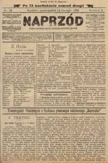Naprzód : organ polskiej partyi socyalno-demokratycznej. 1901, nr14 (po konfiskacie nakład drugi!)