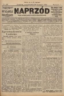 Naprzód : organ polskiej partyi socyalno-demokratycznej. 1901, nr28