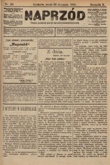 Naprzód : organ polskiej partyi socyalno-demokratycznej. 1901, nr30