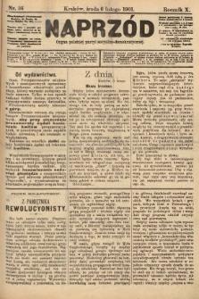 Naprzód : organ polskiej partyi socyalno-demokratycznej. 1901, nr36