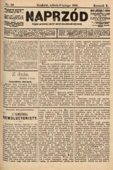 Naprzód : organ polskiej partyi socyalno-demokratycznej. 1901, nr39