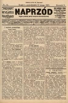 Naprzód : organ polskiej partyi socyalno-demokratycznej. 1901, nr41
