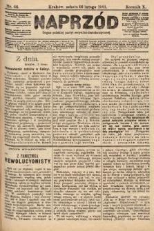 Naprzód : organ polskiej partyi socyalno-demokratycznej. 1901, nr46