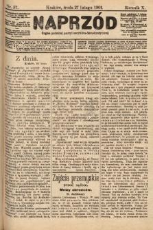Naprzód : organ polskiej partyi socyalno-demokratycznej. 1901, nr57