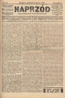 Naprzód : organ polskiej partyi socyalno-demokratycznej. 1901, nr61