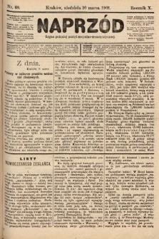 Naprzód : organ polskiej partyi socyalno-demokratycznej. 1901, nr68